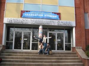 Degrassi school - outside